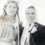 18 fevralya 1953g. den svadby Bojko Petra i Galiny  Urozhaj  Na snimke Gali na Nelya Melnik druzhka 150x150 - Сын Пётр