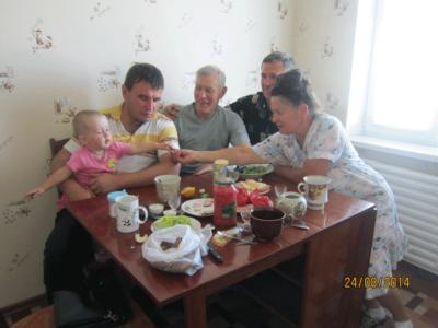3 VIKTORA  Bojko Gorban   vnuchka ZHenya 400x300 - Современные фотографии