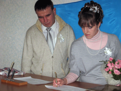 Brakosochetanie syna Viktora i Lyudmily 400x300 - Современные фотографии