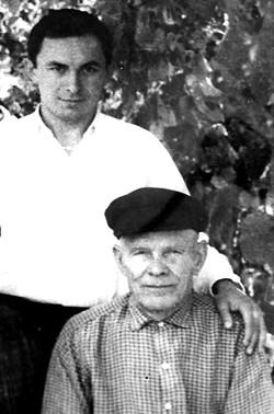 Foto 8. Avtor rukopisi s dedom 1966 god pos. Kamysh Zarya Kujbyshevskij rajon Zaporozhskaya obl. Ukraina - Предисловие к третьему изданию книги