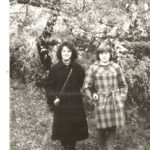 Лена Демченко и племянница Лариса ( старшая дочь Люды)