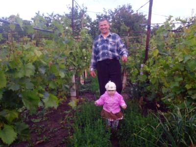 Moi vinogradniki i vnuchka ZHenya 400x300 - Современные фотографии