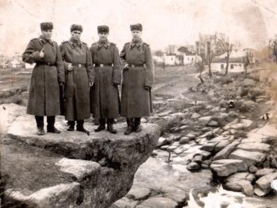 Novobrantsy. Petr Bojko vo vremya srochnoj sluzhby v armii. 400x300 - Давние фотографии
