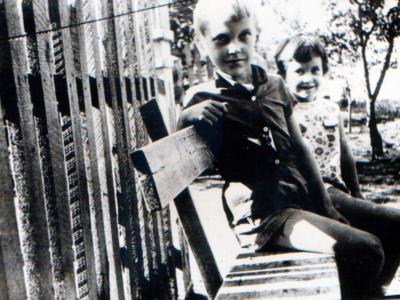 Oleg i Lena Noginy v Kujbyshevo 400x300 - Фото семьи Екатерины: супруг, дети