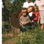 Татьяна с дочерью, внучкой и правнуком