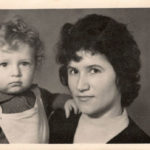 Люба,-жена-Александра-Куриленко-с-сыном