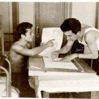 ВАЛЕРИЙ.-В-студенческом-общежитии-ЗМИ-1963-г