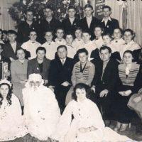 Празднование Нового года. В ночь на 1 января 1960 г.