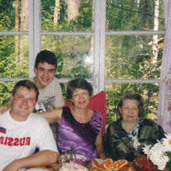 ++++Семья сына Виктора 2000