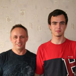 ++++Сын Евгений и сын Виктор.2012