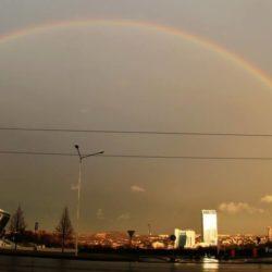 Двойная радуга над Донецком