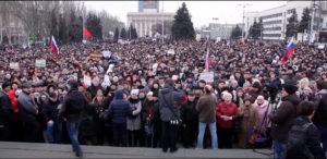 mart2014 animajdan miting 300x146 - Вопреки COVID-19: Донецк провел военный парад