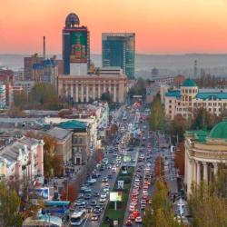 Празднуем день города Донецка