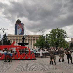 Бессмертный полк в Донецке